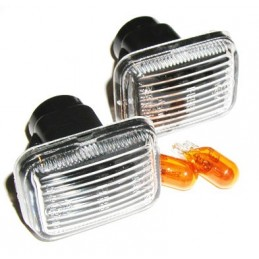 Range Rover OEM P38 MKII 0, 4.6, 2.5TD Clear Side Indicators & Amber Bulbs Fits Left & Right 1995-2002