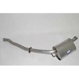 Range Rover P38 MKII 2.5TD Single Rear Exhaust Tail Pipe 1995-2002