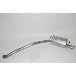 Range Rover P38 MKII 4.0, 4.6, V8 Petrol Rear Single Exhaust Tail Pipe 1995-2002 www.p38spares.com rear, petrol, v8, rover, rang