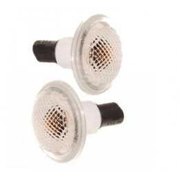 Land Rover L322 MKIII Uprated Clear Side Indicators & Bulbs All Models Fits Left & Right 2002-2009 - Pair www.p38spares.com  318