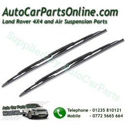 Pair Front Range Rover L322 MKIII Replacement Windscreen Wiper Blades All Models 2002-2012 www.p38spares.com  1026 - DKC000040 A