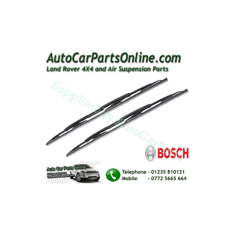 Pair Bosch Front Range Rover L322 MKIII Replacement Windscreen Wiper Blades All Models 2002-2012 www.p38spares.com  3185 - DKC00