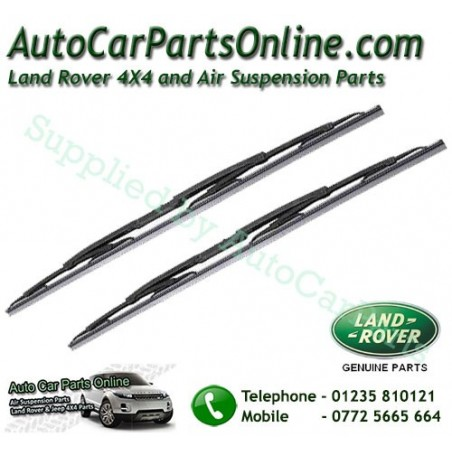 Pair Genuine Front Range Rover L322 MKIII Replacement Windscreen Wiper Blades All Models 2002-2012