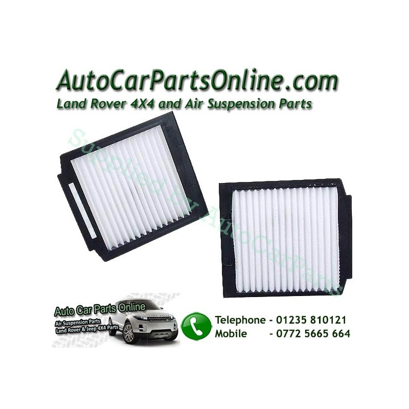 Pair Range Rover P38 MKII Pollen Particle & Odour Filters All Models 1995-2002 www.p38spares.com  1033 - BTR8037 LR030219
