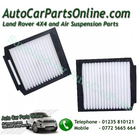 Pair Range Rover P38 MKII Pollen Particle & Odour Filters All Models 1995-2002