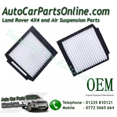 Pair OEM Range Rover P38 MKII Pollen Particle & Odour Filters All Models 1995-2002