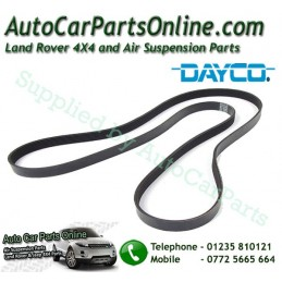 Dayco Range Rover P38 MKII Gems Engine Serpentine  Drive Belt with Air Conditioning 1995-1998