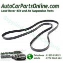 Range Rover P38 MKII Thor Engine Serpentine Drive Belt with Air Conditioning 1999-2002 www.p38spares.com  1446 - PQS101480