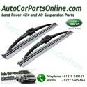 Pair Genuine Range Rover P38 MKII Headlight Wiper Blades 1995-2005 www.p38spares.com  3187 - DKC100860 LR Brit
