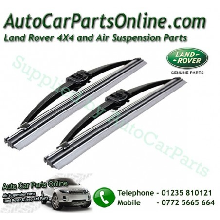 Pair Genuine Range Rover P38 MKII Headlight Wiper Blades 1995-2005