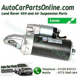 Petrol Lucas Starter Motor Range Rover P38 MKII V8 4.0 4.6 Models 1995-2002 www.p38spares.com  NAD101490 G Britpart
