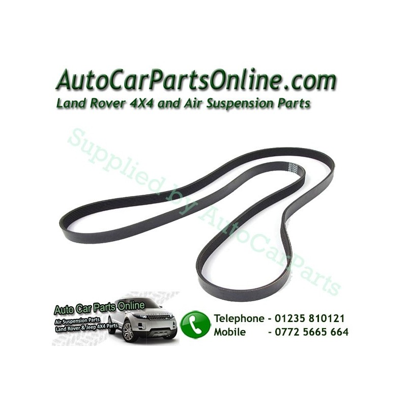 Land Rover Discovery 1 3.9 4.2 V8 Timing Alternator Drive Belt With Air Conditioning 1995 www.p38spares.com  1299 - ERR4623