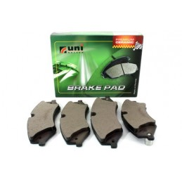 Rear Unibrakes Land Rover Discovery 2 All Models Brake Pads 1998-2004 - supplied by p38spares