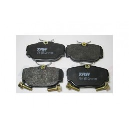 Rear Delphi Land Rover Discovery 2 All Models Brake Pads 1998-2004 - supplied by p38spares