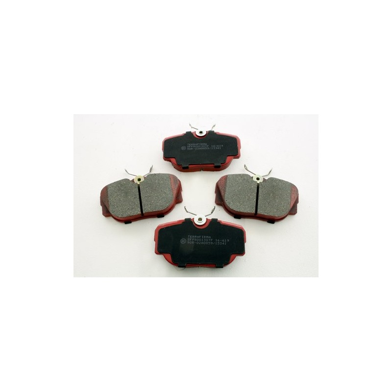 Rear Terrafirma Brake Pads Range Rover P38 MKII All Models 1999-2002 www.p38spares.com  3199 - SFP500130 TF (Allmakes)