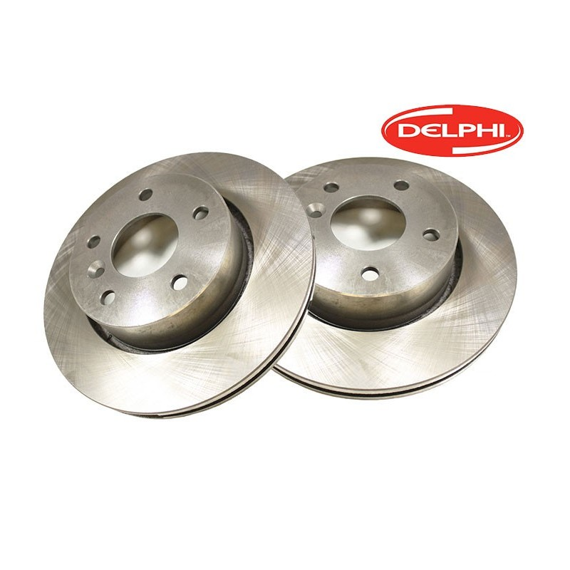 Pair Delphi Front Vented Range Rover P38 MKII Brake Discs 1995-2002 www.p38spares.com  1134 - NTC8780 G (Allmakes)