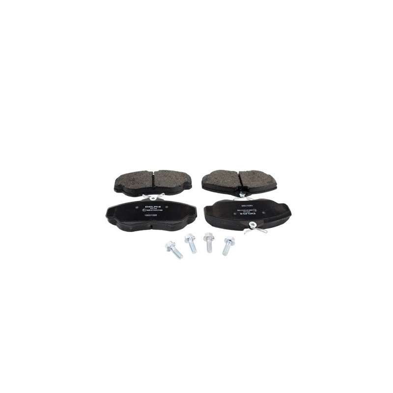 Front Delphi Brake Pads Land Rover Discovery 2 All Models 1998-2004 - supplied by p38spares