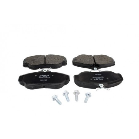 Front Delphi Brake Pads Land Rover Discovery 2 All Models 1998-2004
