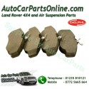 Front Delphi Brake Pads Range Rover P38 MKII 4.0L 4.6L 2.5TD Models 1995-2002 www.p38spares.com  3202 - SFP500120 G