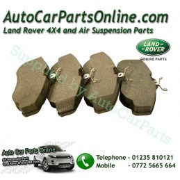 Front Genuine Brake Pads Range Rover P38 MKII 4.0L 4.6L 2.5TD Models 1995-2002 www.p38spares.com  3203 - SFP500120 LR (britpart)