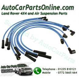 Blue 7mm HT Ignition Lead Set Range Rover Classic V8 3.5 Carb & EFI Petrol Models 19886-1994 www.p38spares.com  1060 - RTC6551 A