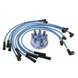 Blue 7mm HT Ignition Lead Set & Blue Distributor Cap Defender 90 110 V8 3.5 Petrol Models 1983-2006 www.p38spares.com  3210 - RT