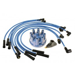 Blue 7mm HT Ignition Leads Blue Distributor Cap & Rotor Discovery 1 V8 3.5 Carb & EFI Petrol Models 1989-1993 www.p38spares.com