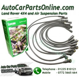 Lucas Black 7mm HT Ignition Lead Set Discovery 1 V8 3.5 Carb & EFI Petrol Models 1989-1993 www.p38spares.com  3127 - RTC6551 G