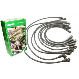 Lucas Black 7mm HT Ignition Lead Set Range Rover Classic V8 3.5 Carb & EFI Petrol Models 19886-1994 www.p38spares.com  3218 - RT