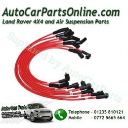 Red 7mm GEMS HT Ignition Leads Range Rover P38 MKII GEMS 4.0 4.6 V8 Petrol 1994-1999 www.p38spares.com  1968 - DA4102 RED