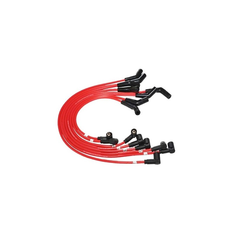 Red 7mm Discovery 2 4.0 V8 Petrol HT Silicone Leads 1998-2004 - supplied by p38spares