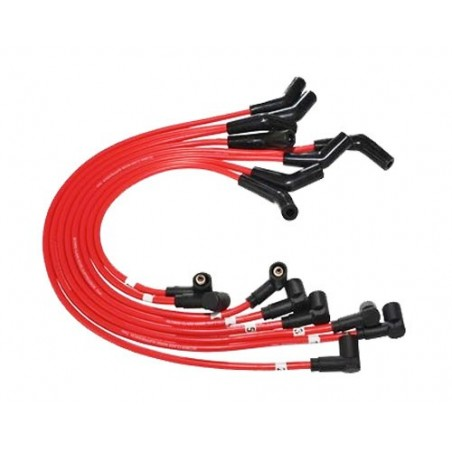 Red 7mm THOR HT Ignition Leads Range Rover P38 MKII THOR 4.0 4.6 V8 Petrol 1999-2002