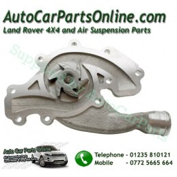 Water Coolant Pump V8 Petrol Quinton Hazell Range Rover Land Rover with Replacment Gasket