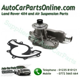 Water Coolant Pump V8 Petrol Range Rover Land Rover with Replacment Gasket - supplied by p38spares