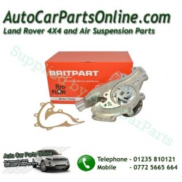 Water Cooling Pump V8 Petrol Pro Flow Range Rover Land Rover Wtih Replacement Gasket www.p38spares.com  STC4378 G Britpart