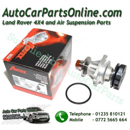 Water Cooling Pump 2.5 TD Diesel BMW Airtex OEM Range Rover P38 MKII with Replacement Gasket 1995-2002