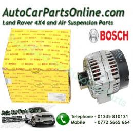 Petrol Thor 150AMP Bosch Alternator P38 MKII V8 4.0 4.6 Models 1999-2002 www.p38spares.com  1141 - ERR5834 Brit
