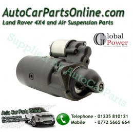 Diesel Starter Motor Global Power P38 MKII 2.5TD BMW Engine 1995-2002 - supplied by p38spares