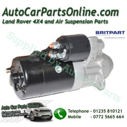 Diesel Starter Motor Britpart P38 MKII 2.5TD BMW Engine 1995-2002 - supplied by p38spares