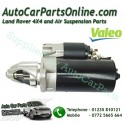 Petrol Starter Motor Valeo V8 Land Rover Range Rover Models (See List for Fitments) - supplied by p38spares petrol, v8, rover,