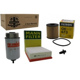Service Kit Pr2 - Land Rover Defender - 2.4 Puma 2007 Onwards 2007 - 2010 www.p38spares.com 2007, kit, rover, land, defender, -,