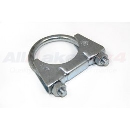 Exhaust Clamp 48MM (1986-2015) - supplied by p38spares exhaust, Clamp, (1986-2015), 48Mm