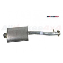 Front Exhaust Silencer Defender (Not NAS) 110 200Tdi 1995, 300Tdi 1994-1999 www.p38spares.com front, 1995, defender, exhaust, 19