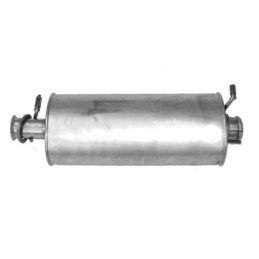 Front Exhaust Silencer Defender 90 (Not NAs) 300Tdi Models 1997-1999 www.p38spares.com front, defender, exhaust, silencer, model