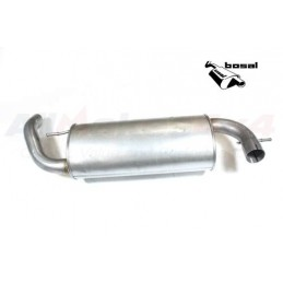 Rear Silencer And Tailpipe Freelander 1 Td4 2.0 Diesel 2001-2006 www.p38spares.com rear, diesel, and, freelander, 1, silencer, T