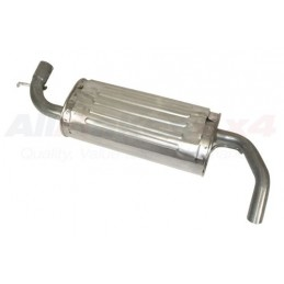 Rear Silencer And Tailpipe Freelander 1 - 1.8 - 4 Cyl Petrol Models 2001-2006 www.p38spares.com rear, 4, petrol, and, freelander