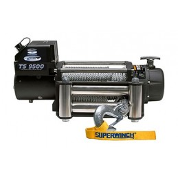 Superwinch Tiger Shark 9500Lbs 12V Winch With Roller Fairlead / Remote - All Models - supplied by p38spares with, 2, discovery