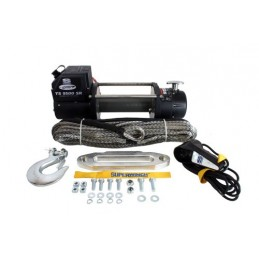Superwinch Tiger Shark 9500Lb 12V Winch With Synthetic Rope - All Models www.p38spares.com with, 4, and, models, -, 12V, Superwi