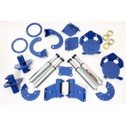 Hydraulic Bumps Stops And Full Mounting Kit Defender 110 And 130 - All Models www.p38spares.com kit, all, and, hydraulic, defend
