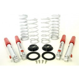 Discovery 2 Air To Coil Conversion Kit (Heavy Load, 2 Inch Lift Includes Springs And 3 Inch Pro-Sport Shocks) - All Models - s